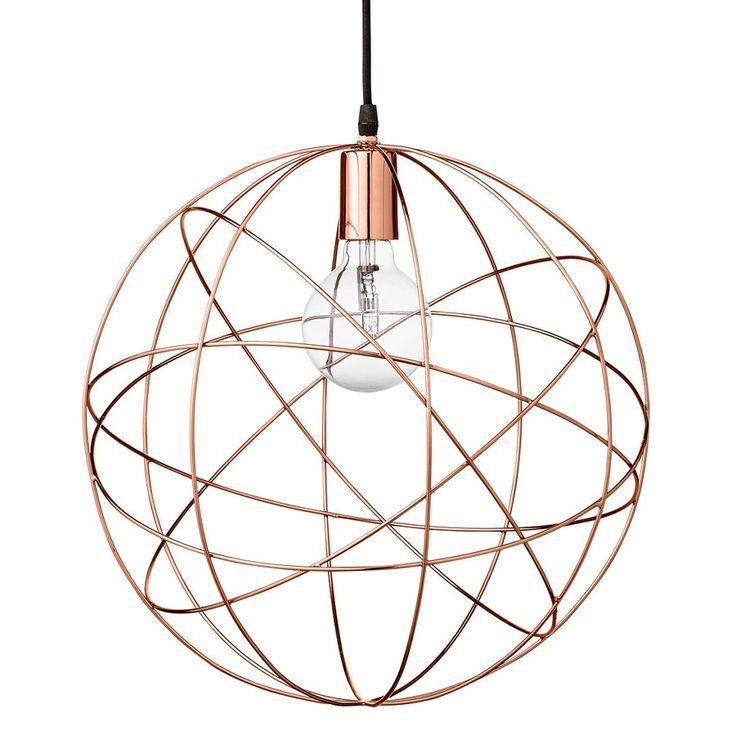 Bloomingville Pendel Globeformet 40 cm - Taklamper - Innebelysning | Designbelysning.no