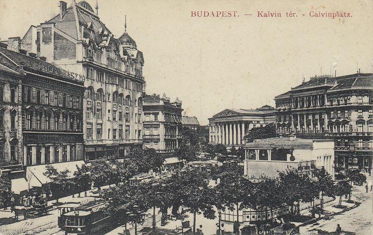 Tudta, hogy egykor kávéház volt a Kálvin tér közepén? | PestBuda