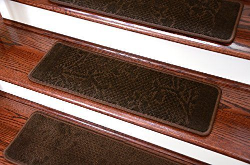 Best Dean Washable 28W Non Skid Carpet Stair Step Cover Rug 400 x 300
