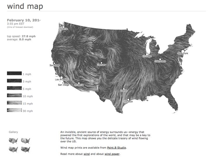 Live Wind Map Hint Fm Surface Wind Data Comes From The National Digital Forecast