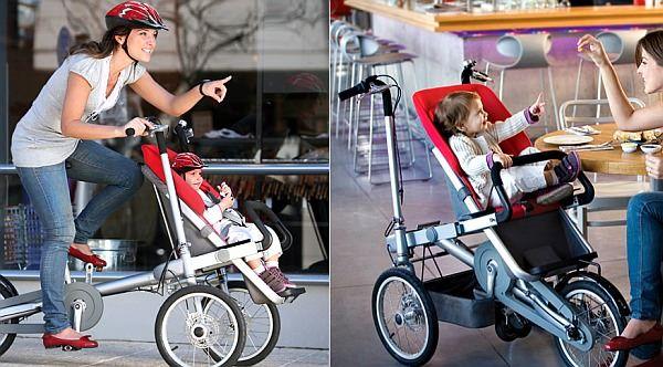 20秒で自転車に変身するベビーカー「Taga」 [えん乗り]