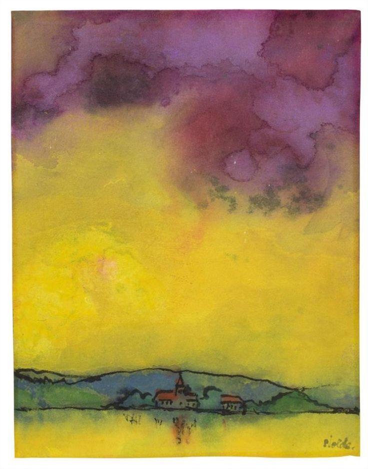 ALONGTIMEALONE: susanzweig: Emil Nolde (German, 1867 - 1956)