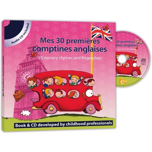 Un livre CD pour chanter, mimer, danser et s'amuser. Une sélection des plus belles comptines et formulettes anglaises. 30 comptines pour développer la curiosité, le vocabulaire et habituer les jeunes oreilles à une nouvelle langue en s'amusant !