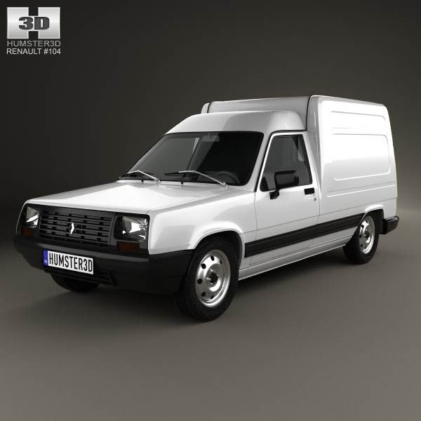 Renault Express 1985 3d model from humster3d.com. Price: $75