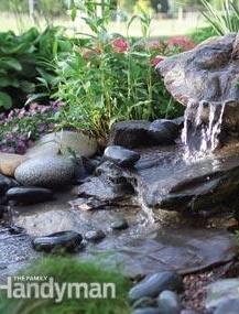 DIY water fall! Step by step