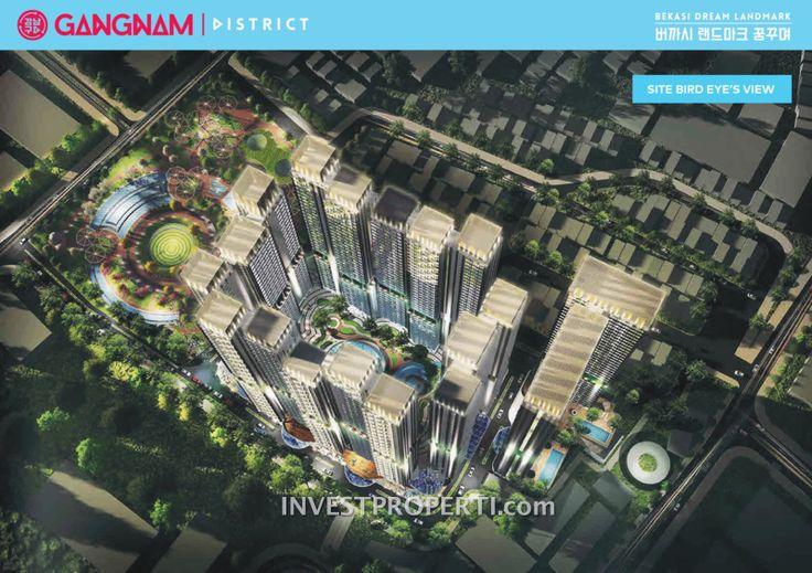 Gangnam District Bekasi Bird Eye View. #gangnambekasiapartment
