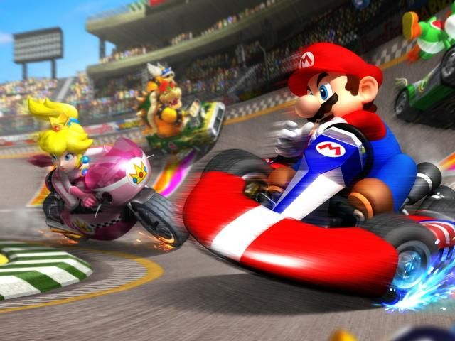 Mario Race Track Wallpaper Hd Games 4k Wallpapers Images Photos And Background Mario Kart Mario Blockchain Game