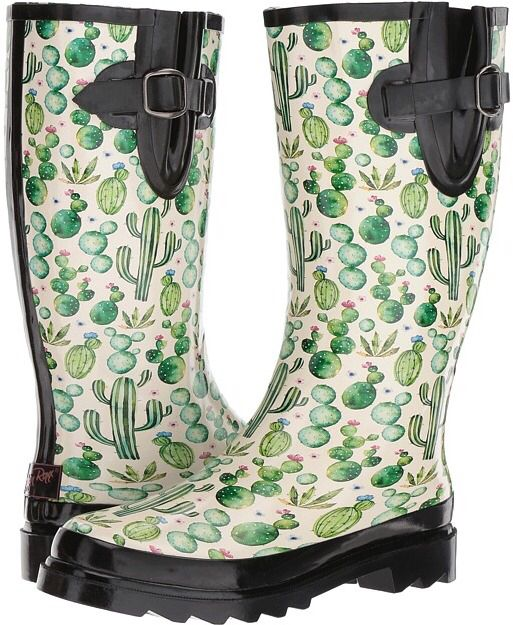 Omg these are so flipping cute! #cactus #boots #cactusboots #affiliate