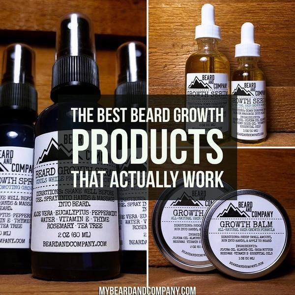 Do you have trouble growing a thick, full beard? If so, you're not alone. Learn about the best beard care products for growth including growth serum and spray.