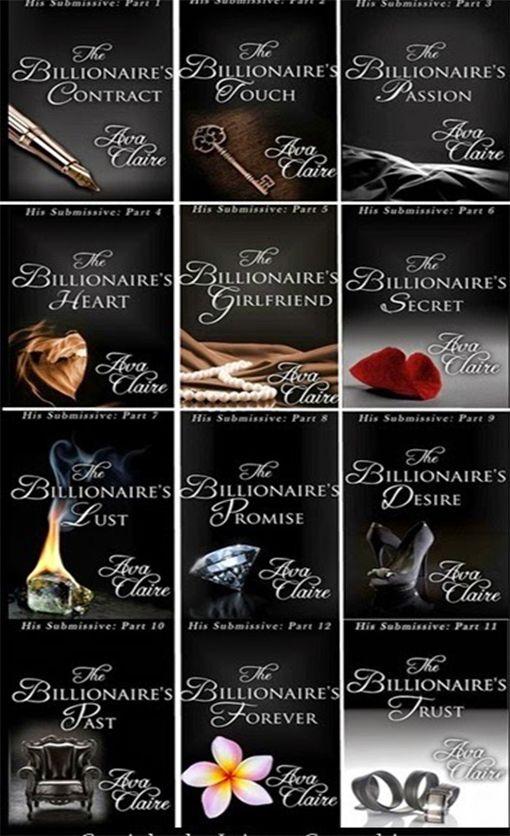 Românticos e Eróticos  Book: Ava Claire - The Billionaire's Contract #1 a #12