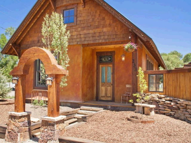 Oak Creek, CO   Straw Bale Home