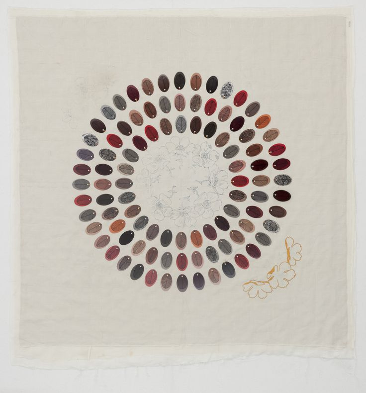 Jan Mullen FEATHERING THE NEST #2 - death of the doily