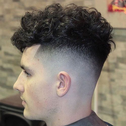 30 Different Hairstyles For Boys In 2019 Curly Hair Men Curly Hair Fade Curly Hair Styles