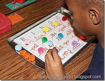 PomPom Magnetic Bingo
