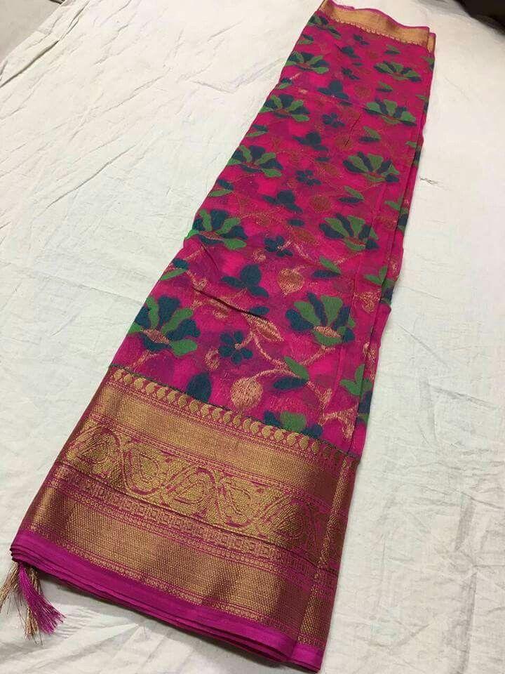 Kanchi border korasilk sarees Order what's app 7995736811 6