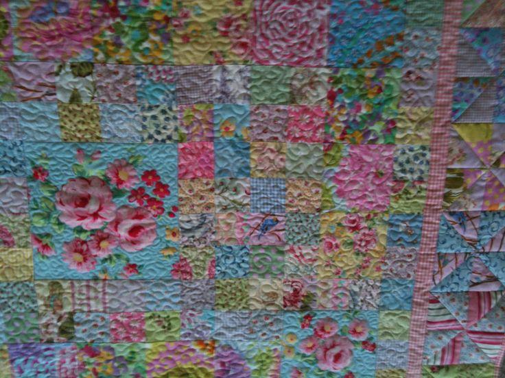 Georgia's cot quilt
