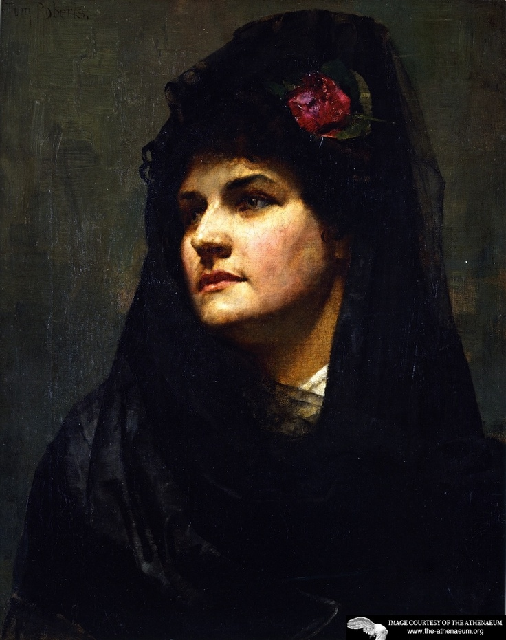 ROBERTS, Tom (1856-1931) Australian artist: -- 'A Spanish Beauty'.