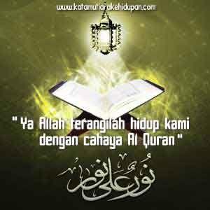 Kata Mutiara Islam Cahaya Al Quran