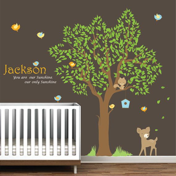 12 best Nursery Tree Decals images on Pinterest | Nursery ...