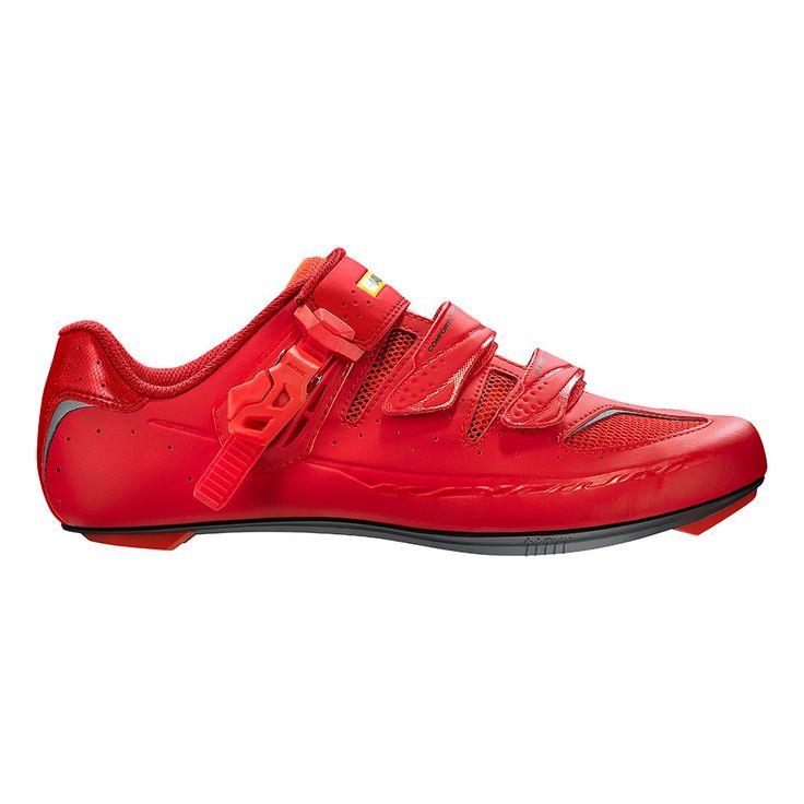 Chaussures Mavic Ksyrium Elite II rouge | deporvillage