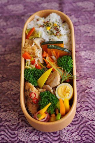 鶏ハーブソテー お弁当 bento