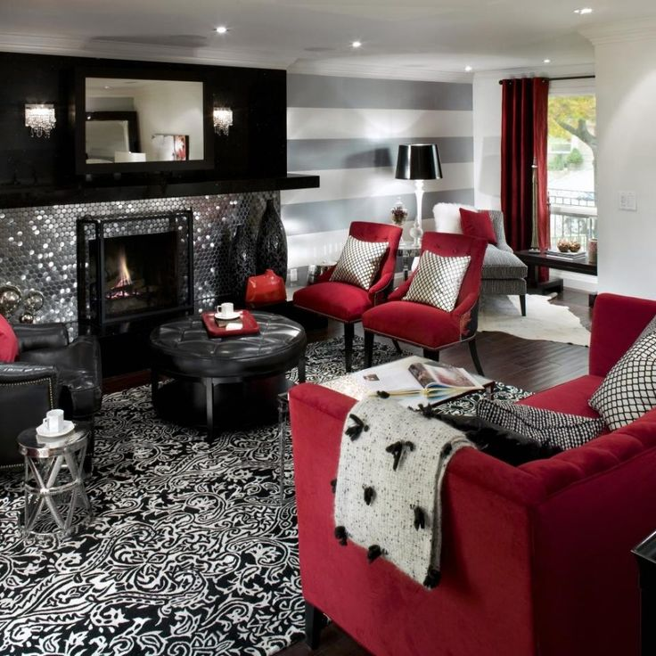 25+ best Red sofa decor ideas on Pinterest Red couch rooms, Red - grey and red living room