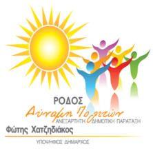 Πρόγραμμα και Στόχοι του συνδυασμού «Ρόδος Δύναμη Πολιτών»  για τον τόπο μας