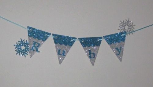 Personalized-Frozen-inspired-glitter-bunting-door-or-wall-decoration