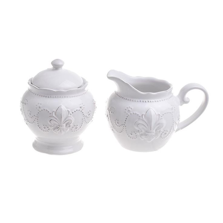 Sugar And Milk Jar Set Of 2 Pieces - inart