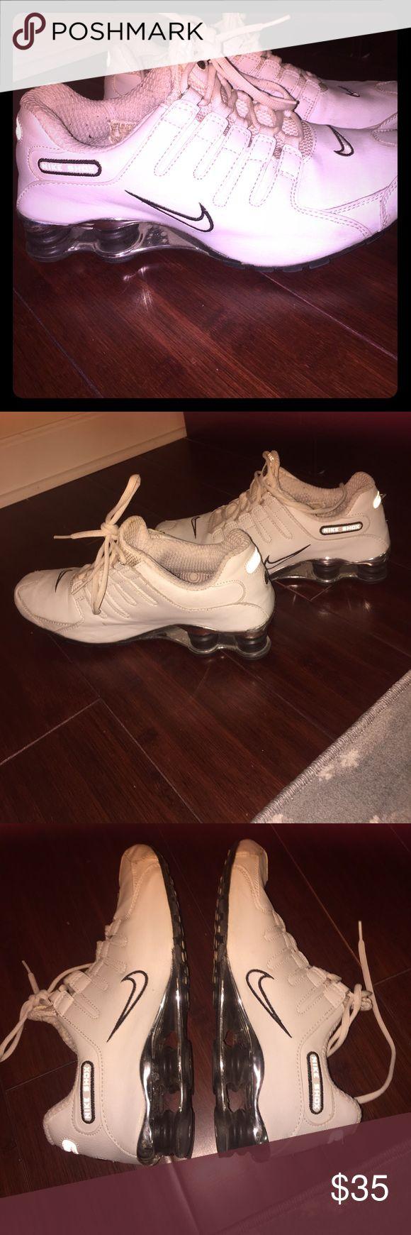Men's Nike Shock Running Shoes White mens Nike shock gym shoes Nike Shoes Athletic Shoes