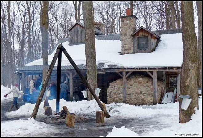 """cabane a sucre """"Sugar Shack"""" Montreal, Quebec, Canada"""