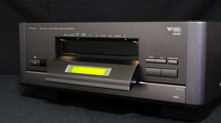 W-VHS - Elektronika,tech,retro-hírportál