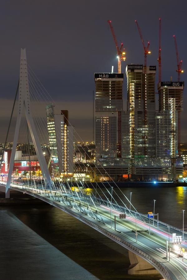I bet, Rotterdam has the best bridges of whole world.