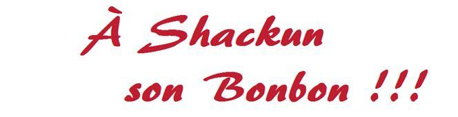 Le Shack à Bonbons - Accueil