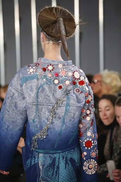 John Galliano for Maison Margiela SS 2016 Defile ,  Look 21,  Details