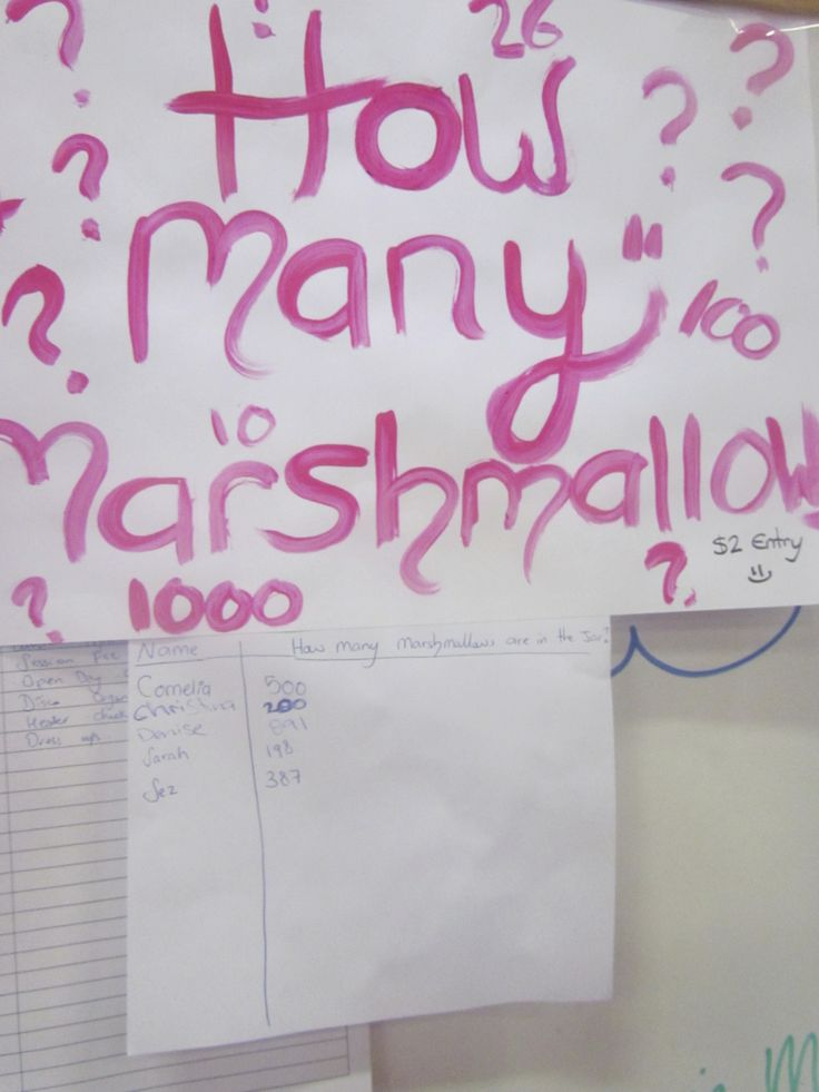how many marshmallows ??