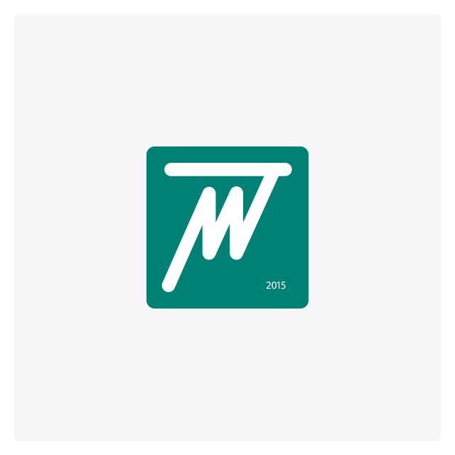 Medtrener logo. The new company provides medical and rehabilitation equipment. Domain – medtrener.ru By Vladimir Vishvanyuk 2015 ©
