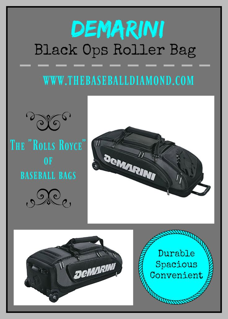 "Learn why this DeMarini special ops wheeled bag is so popular by clicking on the big image above or by clicking on the ""read it"" button."