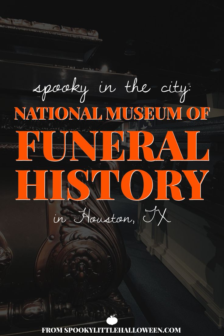 Spooky in the City: National Museum of Funeral History | spookylittlehalloween.com