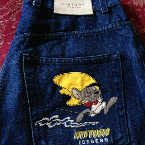 Vintage Iceberg History Speedy Gonzalez Shorts These are extremely rare and getting harder to find. Iceberg Jeans