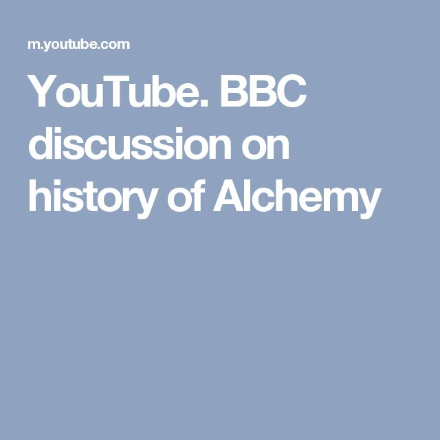 YouTube. BBC discussion on history of Alchemy. Peter Forshaw, Lecturer in Renaissance Philosophies at Birkbeck, University of London, Lauren Kassell, Lecturer in the History and Philosophy of Science at the University of Cambridge, Stephen Pumfrey, Senior Lecturer in the History of Science at the University of Lancaster.