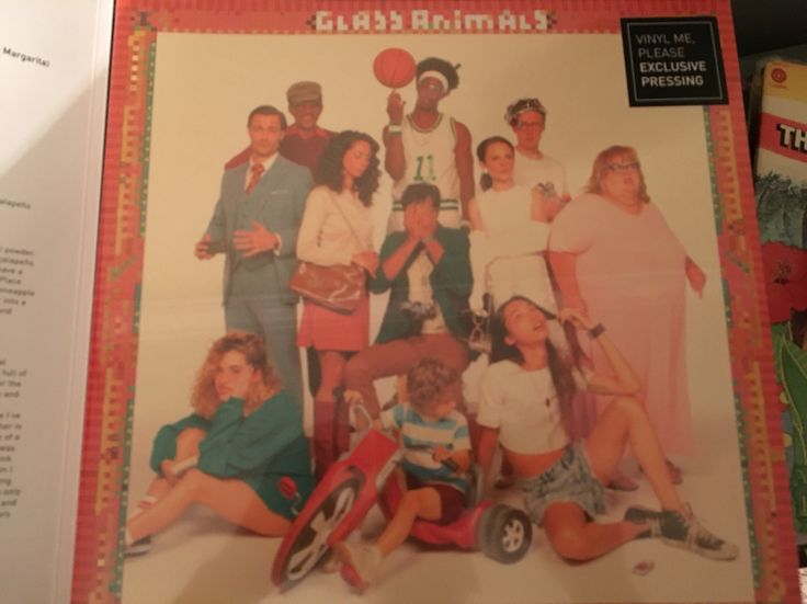 Glass Animals-How to be a Human Being (Vinyl Me Please edition)