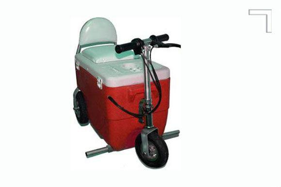 Hielera sobre ruedas