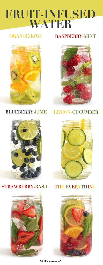 Drinking water can be challenging sometimes. Now because of these fruit infused waters I'm excited to stay hydrated