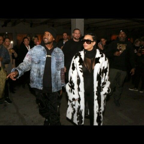 Kim & Kany West