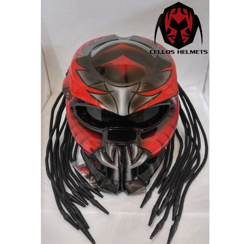 ALIEN PREDATOR HELMET DOT APPROVED | PanjiHelmet -  on ArtFire