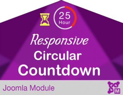 Animated Circular Countdown for Event Responsive & Animated Circular Event Countdown If you want to quickly showcase any event countdown at your Joomla site, whether on home page or anywhere in the module, this is the ideal Joomla extension for you. #joomla #joomlakave  https://joomlakave.com/joomla-modules/responsive-circular-countdown