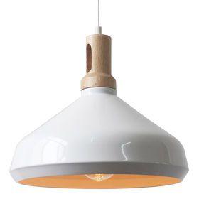 Pendant Lamp | White Black | 34x32cm | Style Illuminated @ The Home