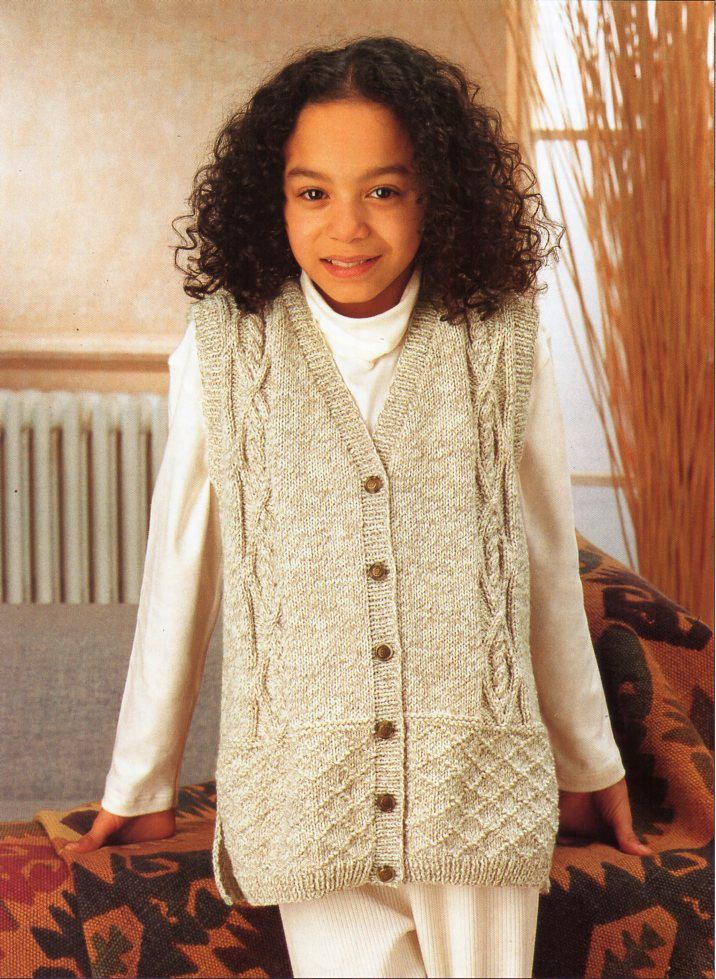 Long Gilet Knitting Pattern : 484 best images about Vintage childrens knitting patterns / knit patterns on ...