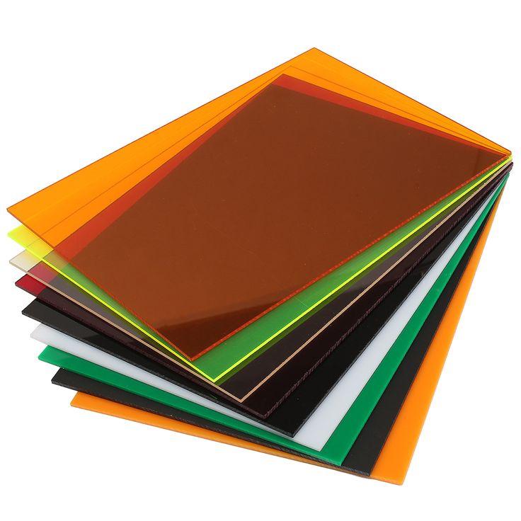 420 × 594 × 5 mm hoja de acrílico talla tallar placa de 10 colores